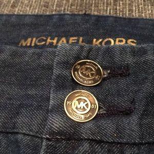 Michael Kors High Waisted Denim Jeans